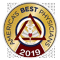America's Best Physicians 2019 Badge